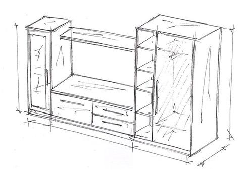 Мебель для гостиных комнат. Шкафы и тумбы под телевизор.